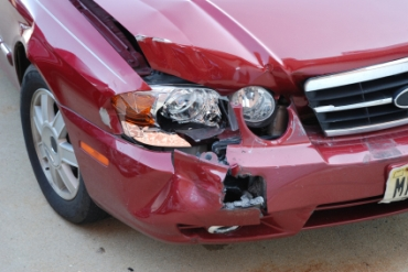 Accident Scene Photos, Auto Damage