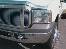 his truck