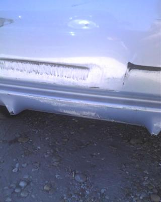 my car after